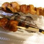 竹松鶏肉店 - 数種お試し