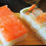ますのすし本舗 源 - 2種のお寿司が