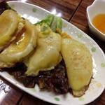 大衆食堂シックダール - カレー餃子