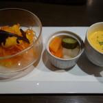 Brasserie 雪乃下 - ランチタイムの前菜