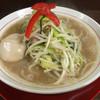 竹ちゃんタンメン - 料理写真:竹ちゃんタンメンハーフ+味玉(680円+15時以降サービス)