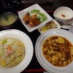 中華料理 八仙閣 - 炒飯セット(1050円)