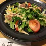 武乃蔵 - オニグラカレーセットのセットサラダ