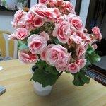 たかさき - 帰り際には奥様から御花のプレゼントまで頂いてしましました