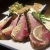 男組 釣天狗 - 料理写真:名物ブリ潮タタキ