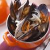 石巻産ムール貝のバケツ蒸し…<500g>1200yen/<1kg>2300yen