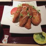 鮮魚と郷土料理の店 たつと - 日南鶏チキンカツ定食  790円