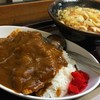 君塚 - 料理写真:カツカレーセット(かけうどん)