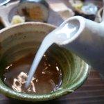 土山人 - 蕎麦湯