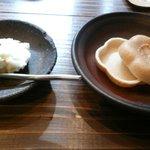 土山人 - 蕎麦アイス最中