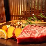 炭火ステーキ坂井 京都三条 - 黒毛和牛 サーロイン