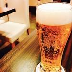 Thai Food Lounge DEE  - 生ビールぷはぁ~
