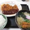 出雲そば本店 - 料理写真:ヤング定食750円