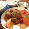 福臨門 - 料理写真:日替わりランチ(¥600) 酢豚