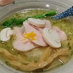 麺処 きなり - 鶏白湯そば 800円