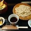 そば処 大盛屋 - 料理写真:ミニ丼セット 天丼+せいろ 980円