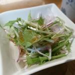 浅野屋 - 小鉢のサラダ