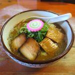 麺屋 高橋 - おさかな正油らーめん(800円)