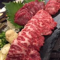 生に焼き何で食べてもウマい馬肉は実は、肉界の王様!!!