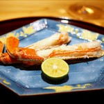 豪龍久保 - 焼き松葉蟹(浜坂)
