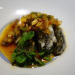 中国料理 東弦京 - 揚げピータンのユーリンソース