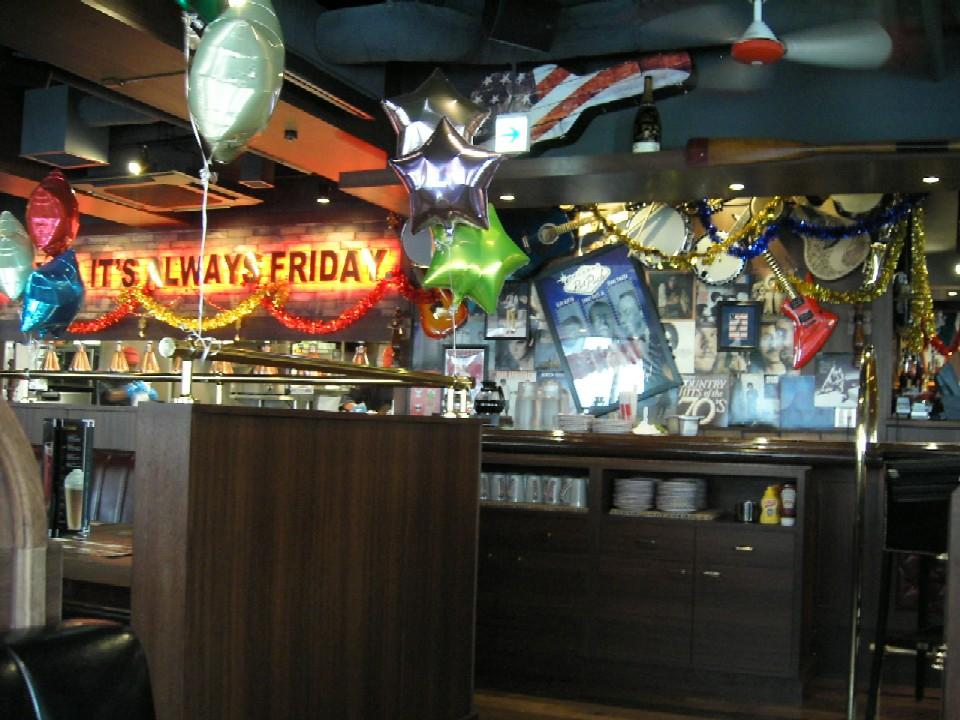 T.G.I. FRIDAY'S 池袋店