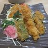 ひさし - 料理写真:おすすめセットのフライ盛合せです☆ 2017-0119訪問