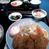 きはらし - 料理写真:カキフライとアジフライ定食