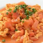 リトル成都 - トマトと玉子の炒め