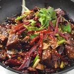 リトル成都 - スペアリブの干鍋