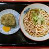 うどん・そば 今庄 - 料理写真:「チャンポン」(300円)と「昆布おにぎり」(120円)