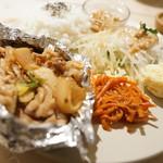 ブルームーン ダイナー - ちゃんちゃん焼き風豚バラ炒め定食
