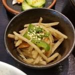 直ちゃん - 定食の小鉢