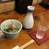 たこ寅 - 料理写真:越乃景虎本醸造超辛口550円とお通し