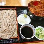 浜松町 更科 - 【蕎麦と天丼…900円】2010/12