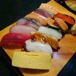 寿司酒場 スシイチ - 使用するネタが写真と異なる場合でした