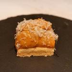 ete - タルトの雲丹乗せ ビリヤニ チーズ