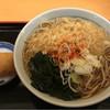かのや - 料理写真:たぬき蕎麦 350円 お稲荷さん 80円