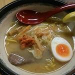 札幌鮭ラーメン麺匠 赤松 - 和こく 鮭だしラーメン(864円)