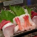 野郎寿司 - セットの刺身