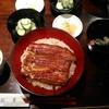 うなぎ双葉 - 料理写真:[料理] 鰻丼 とろろセット (梅) セット全景♪w