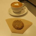 ブルーボトルコーヒー - ピーナツバタークッキー&カプチーノ シングル・オリジン(コロンビア・トリマ サンフェルミン)1