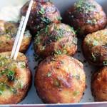 ○すけ - 料理写真:たこ焼き(醤油味)