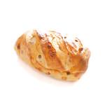 360° - クルミとアーモンドキャラメルチョコのパン・オ・レ (340円) '16 7月中旬