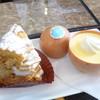 洋菓子マウンテン - 料理写真:パリブレストとマウンテンのプリン
