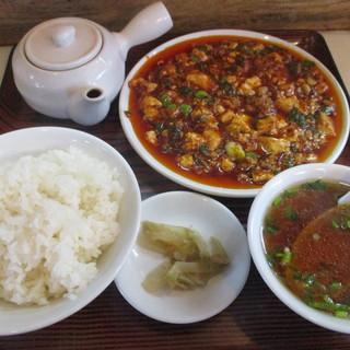 盛 - 料理写真:1月の麻婆豆腐