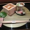 名月荘 - 料理写真:夕食@カウンターダイニング
