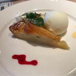 テンダロッサ - アップルのケーキ。