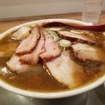 Menyashichisai - 肉そば(煮干) 1070円