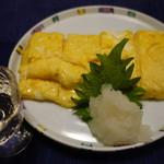 酒・肴 おまた - 2016.01 だし巻き玉子(800円)